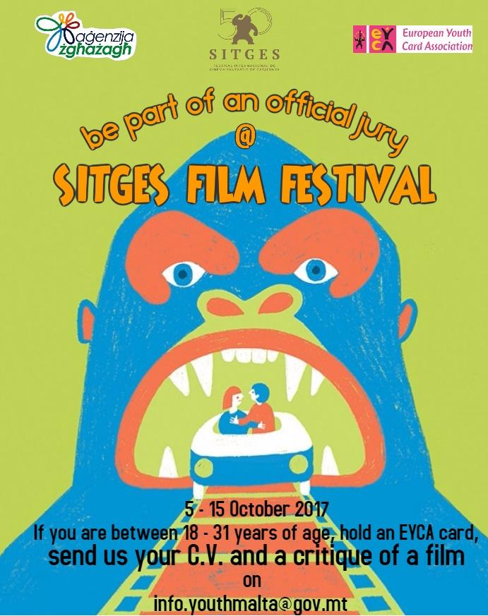 INTERNATIONALISATION OF THE 13TH CARNET JOVE JURY OF THE SITGES FILM FESTIVAL.